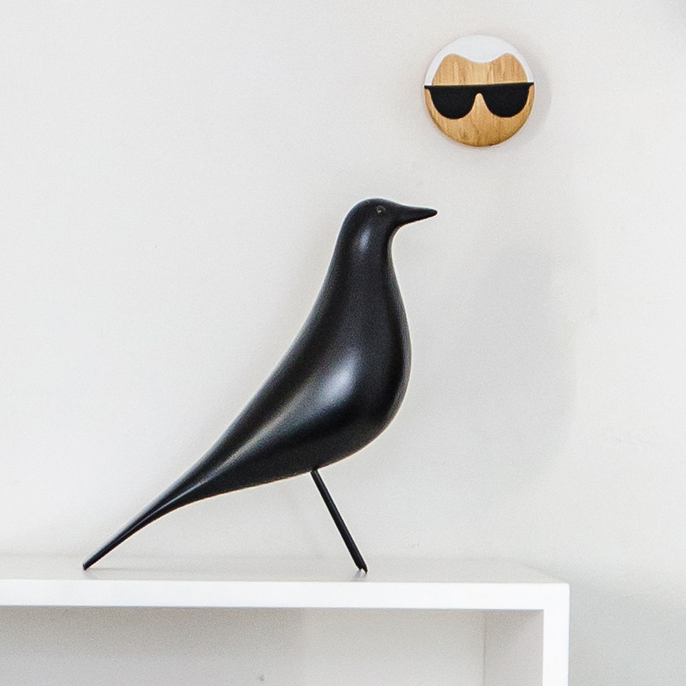 top by design  vitra  eames house bird black - additional images