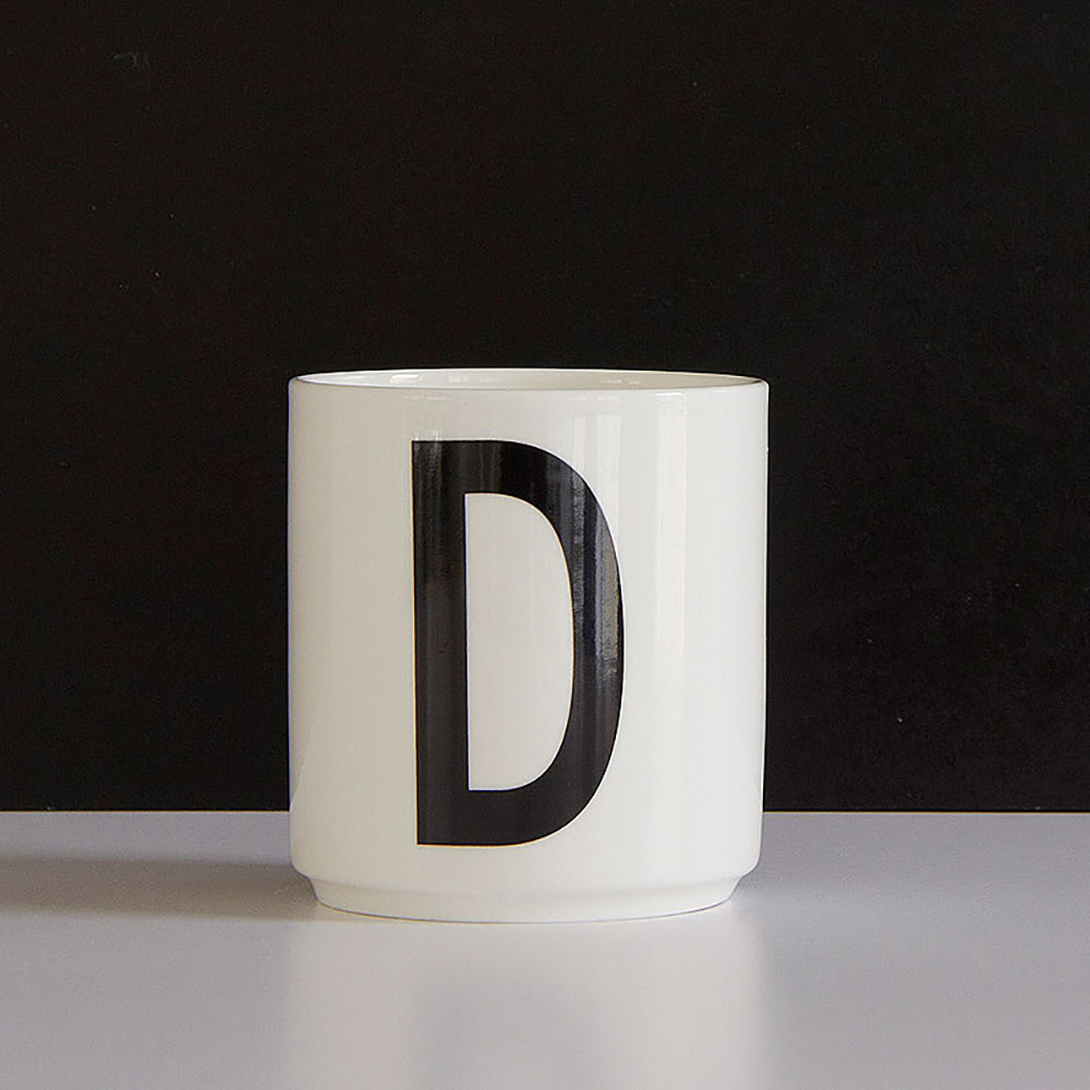 Kitchen Set Letter L: AJ Porcelain Cup D