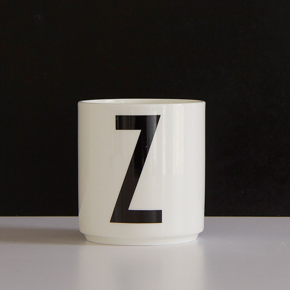 Kitchen Set Letter L: AJ Porcelain Cup Z