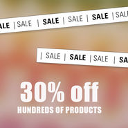 SALE IS ON! news from top3 by design