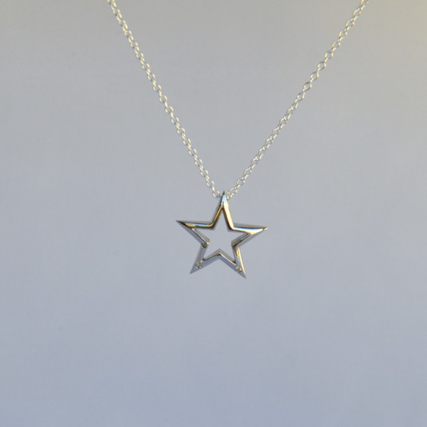 Gorgeous star of BethlehemImage3Description which makes you feel like a star. Creative Australian Image3Description with in-block chain hole.\nThis pendant is casted using 925 sterling silver directly from 3D printed computer models. Therefore, what you see in these pictures will be exactly what you will get.\nYou can wear this everyday in all occasions. The rhodium coating on the silver metal will prevent it from tarnishing and the shine will last long.\nThis is a perfect valentine day gi
