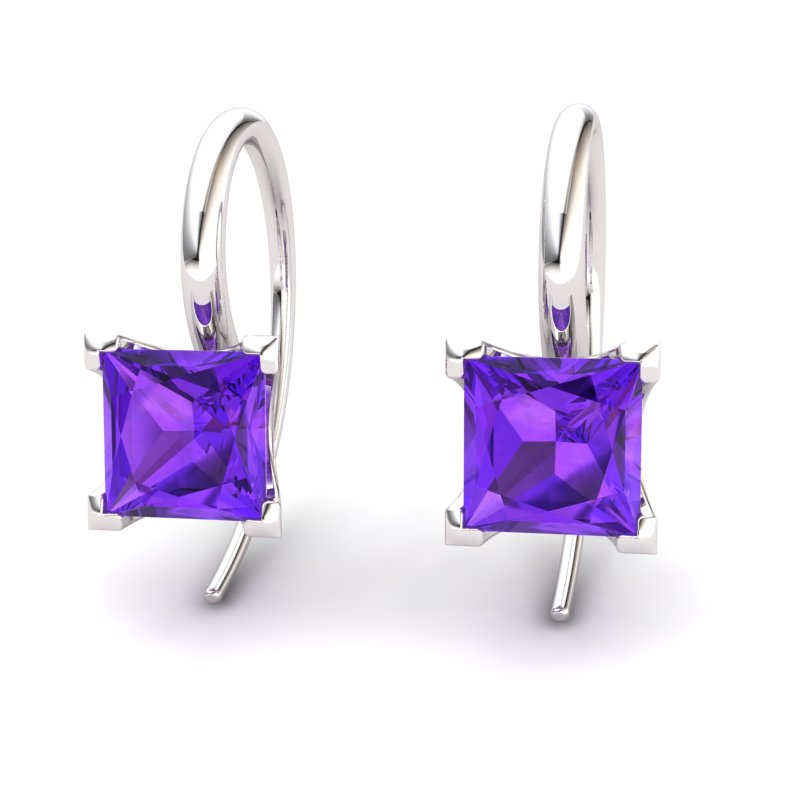 Amethyst Magic of Love Hook Earrings_image1