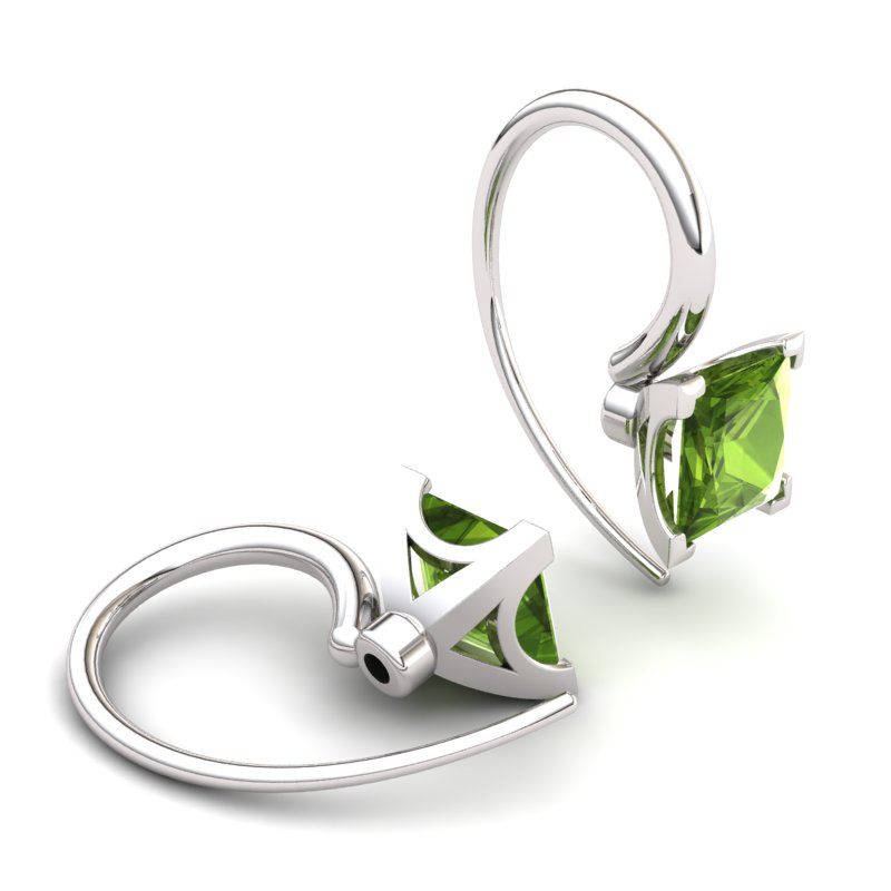 Peridot Earrings Magic of Love_image1