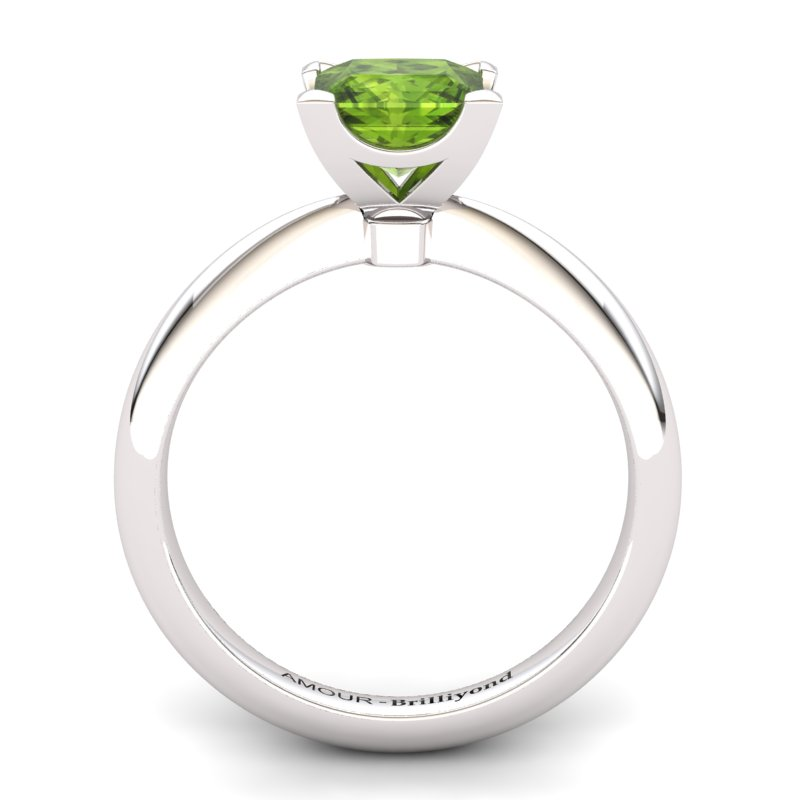 Peridot Artisanal Magic of Love Solitaire Ring_image2
