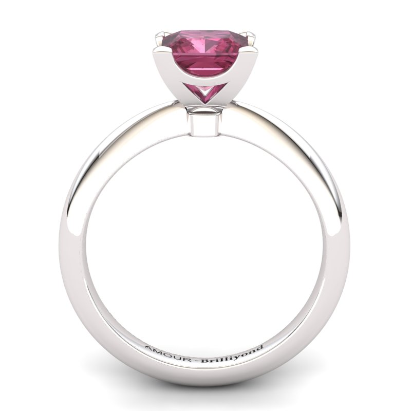 Garnet Artisanal Magic of Love Solitaire Ring_image1