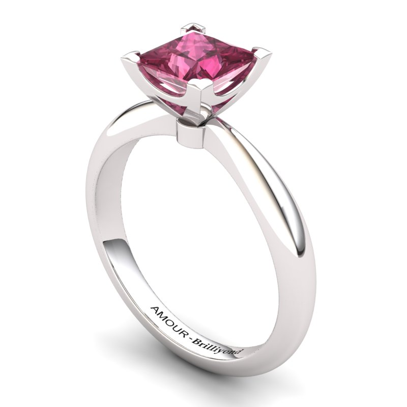 Garnet Artisanal Magic of Love Solitaire Ring_image2