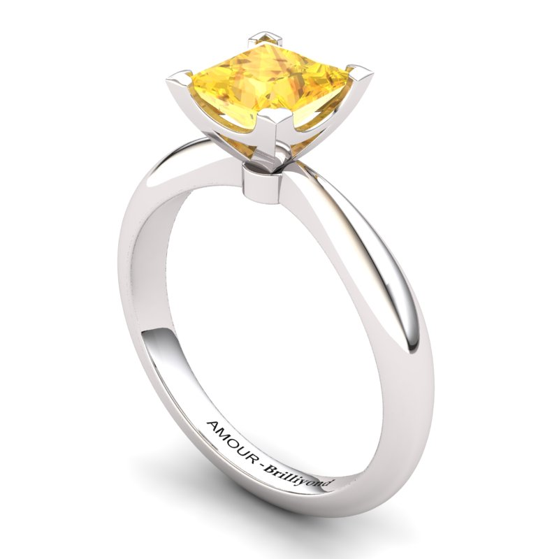 Citrine Artisanal Magic of Love Solitaire Ring_image2