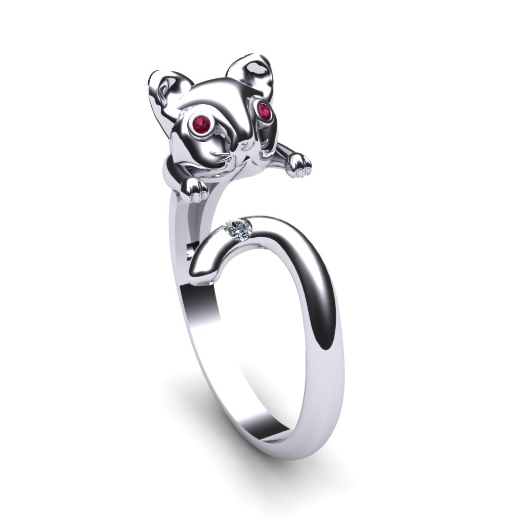 Pink Sapphire Cat Ring_image1