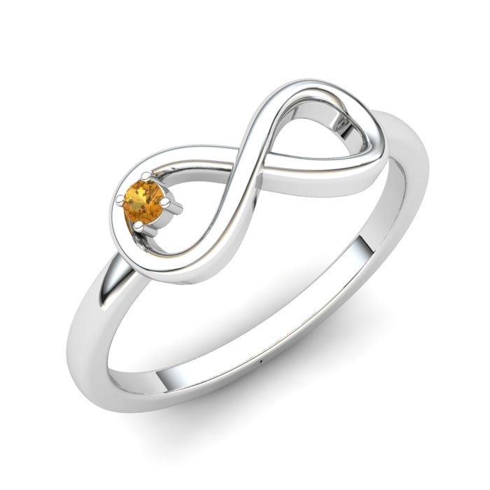 Infinity Love Citrine Ring_image2