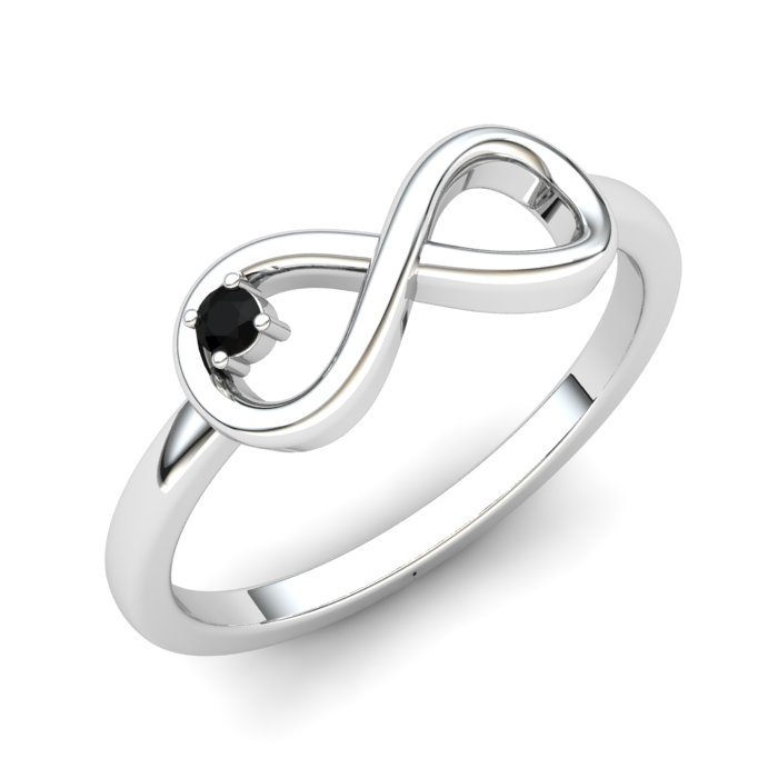 Onyx Infinity Love Ring_image1