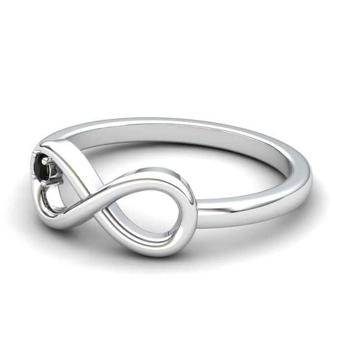 Onyx Infinity Love Ring_image2