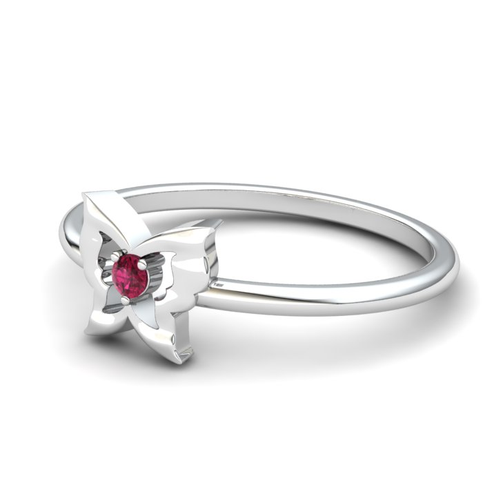 Ruby Gatekeeper Butterfly Ring_image2