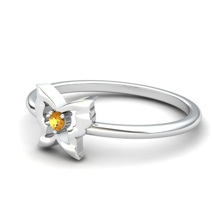 Gatekeeper Butterfly Citrine Ring_image2