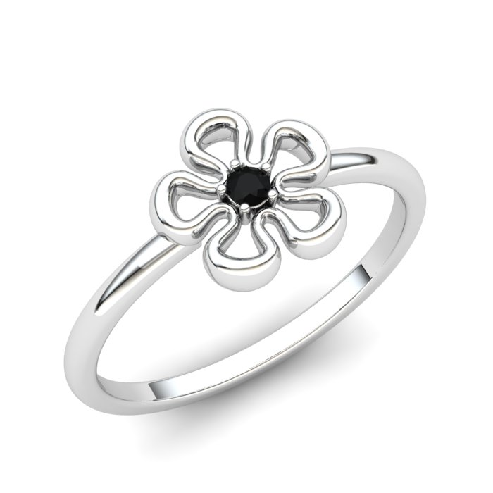 Onyx Lantana Flower Ring_image1