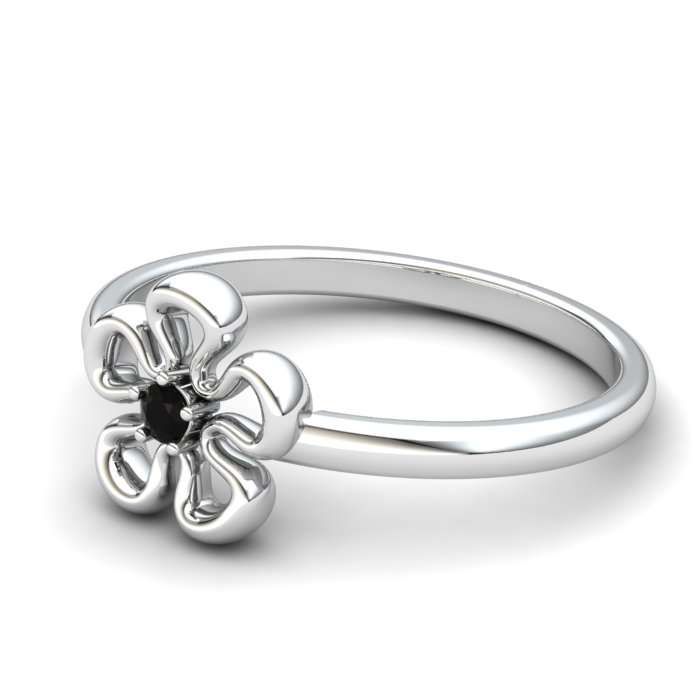 Onyx Lantana Flower Ring_image2