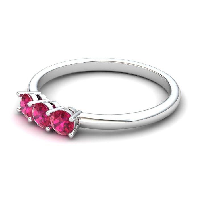 Ruby Three Wishes Ring_image2