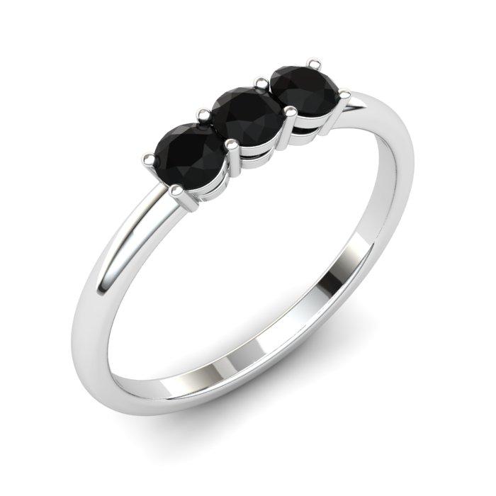 Onyx Three Wishes Ring_image1