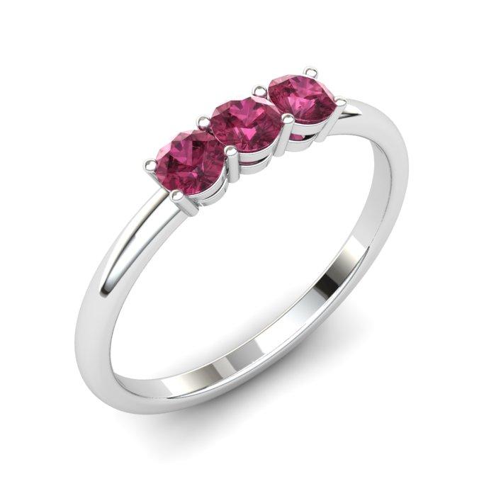 Garnet Three Wishes Ring_image1