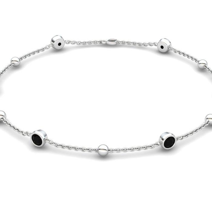 18K White Gold Sofia Bracelet_image1