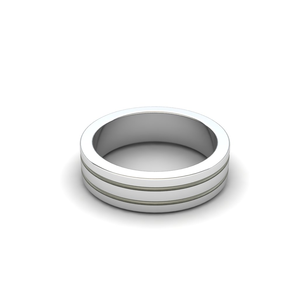Esteban Sterling Silver Grooved Ring_image2