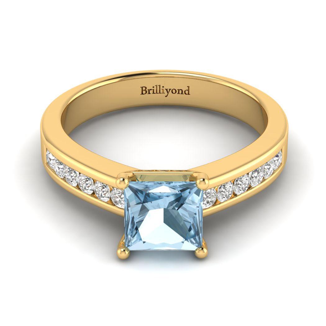 Princess Cut Engagement Ring Pharos_image2