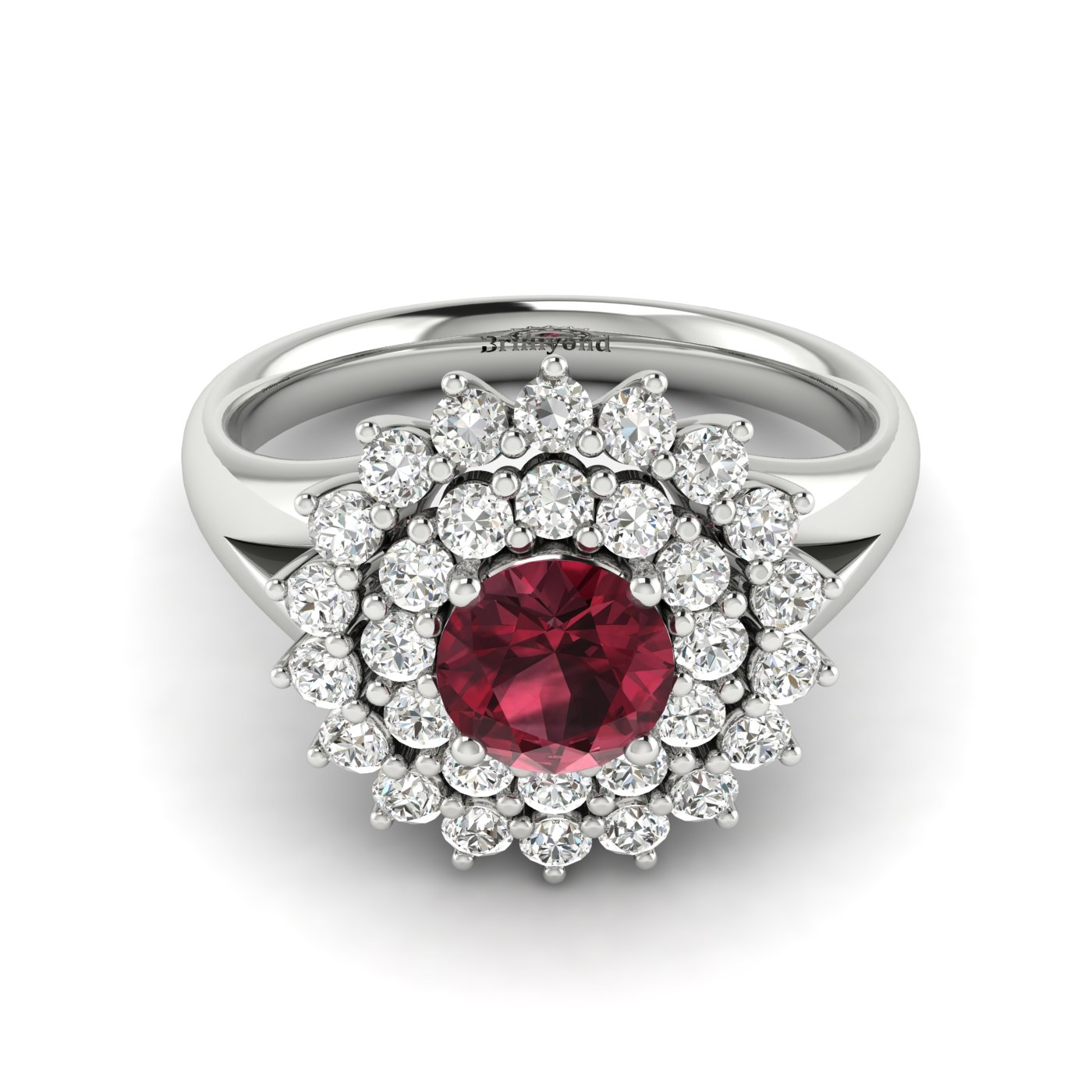 Cluster Engagement Ring Aquila_image2
