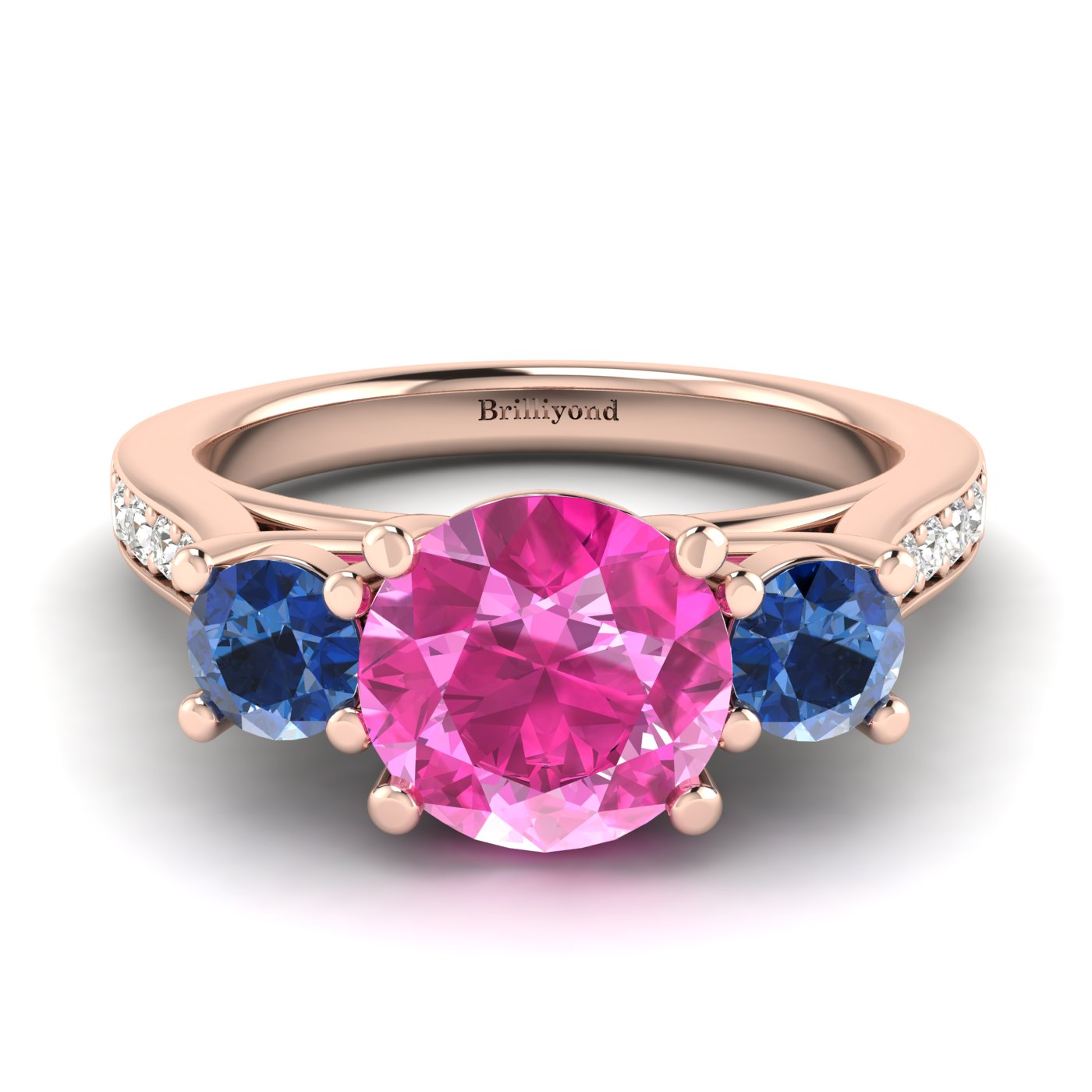 Customisable Engagement Rings | 18k Gold Engagement Rings with ...