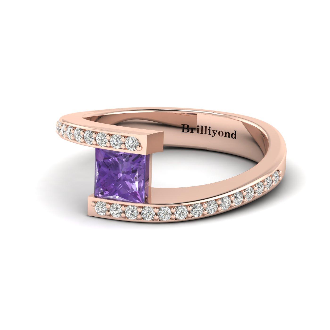 Cushion Cut Engagement Ring Sheba_image1