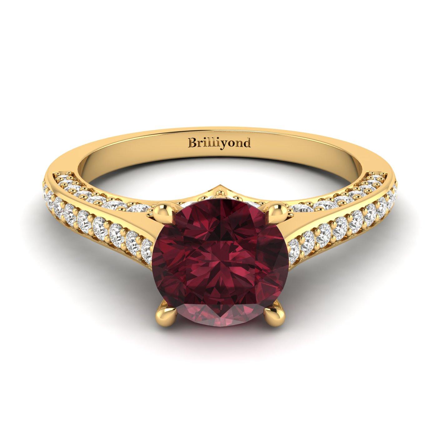 Brilliant Cut Engagement Ring Stargate_image1