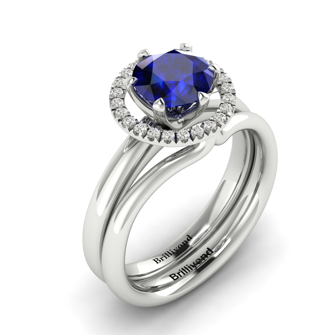Diamond Halo Ring Guard Enhancer Byond_image1
