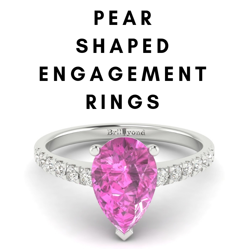 Pear Shaped Engagement Rings_image1