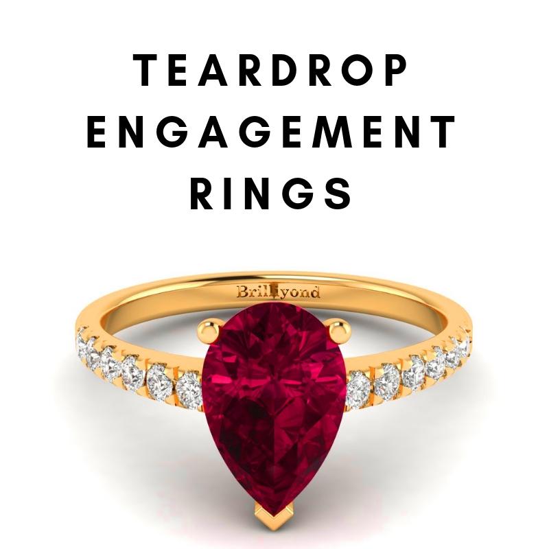 Teardrop Engagement Rings_image1