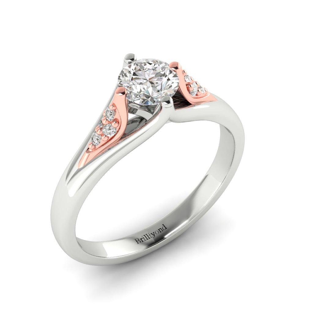 Diamond Vintage Engagement Ring Sutherland in Platinum