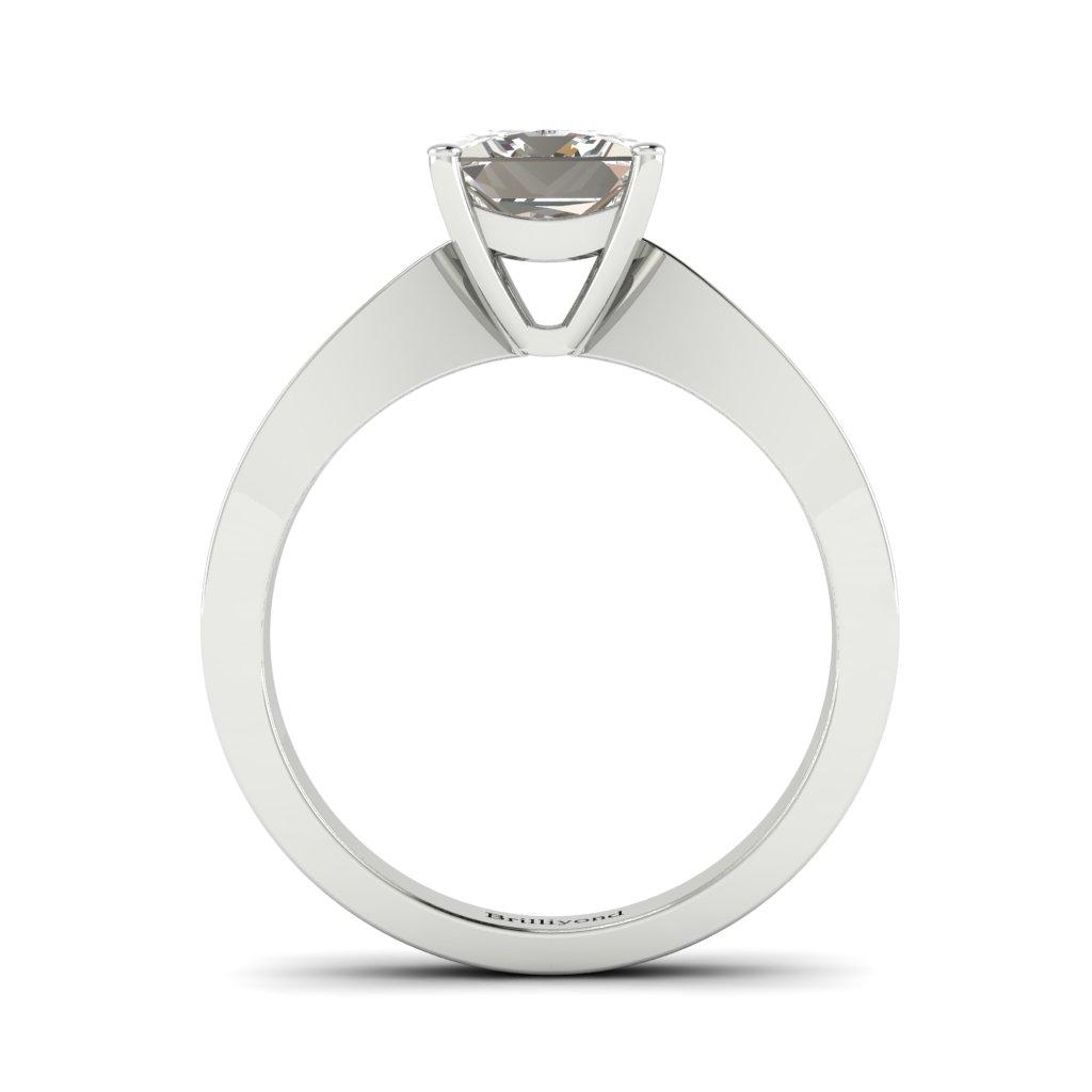 Princess cut Diamond Engagement Ring Vanessa in Platinum _image3
