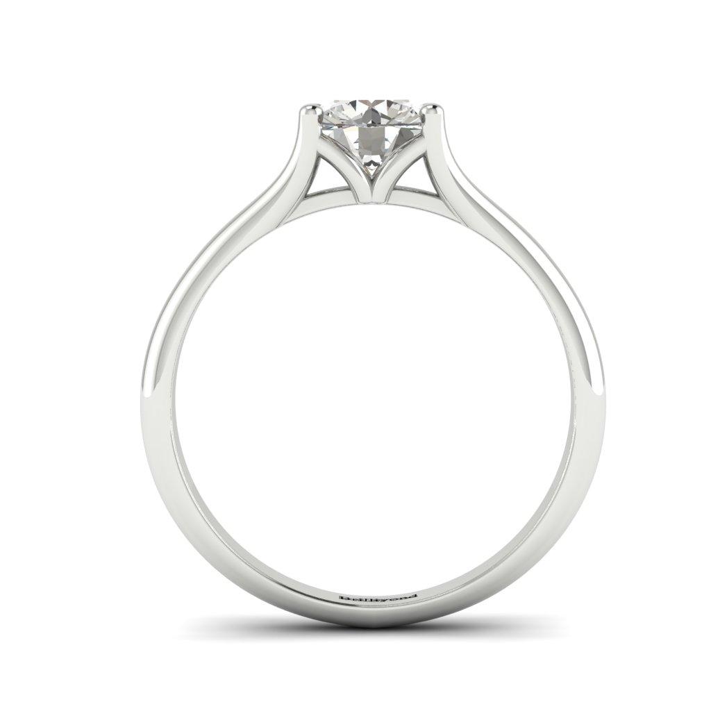 Diamond Solitaire Engagement Ring Preen in Platinum