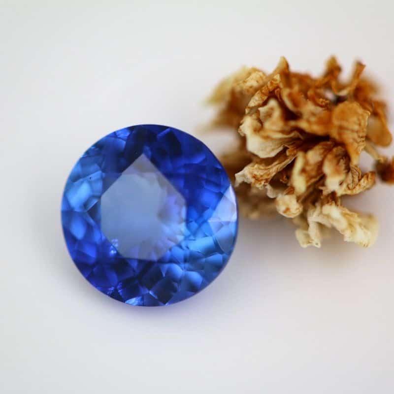 Royal Peacock Blue Sapphire 1.25ct
