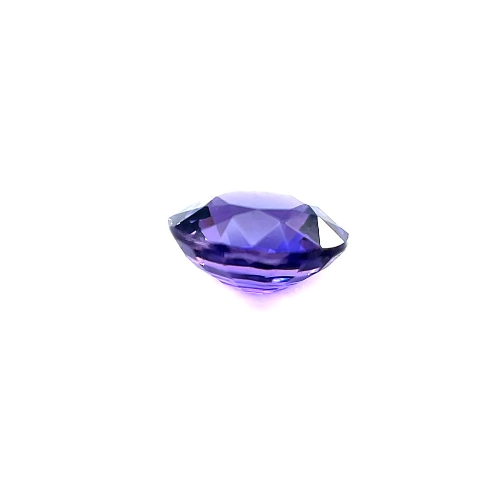 Un-heated Violet Sapphire (0.99ct)