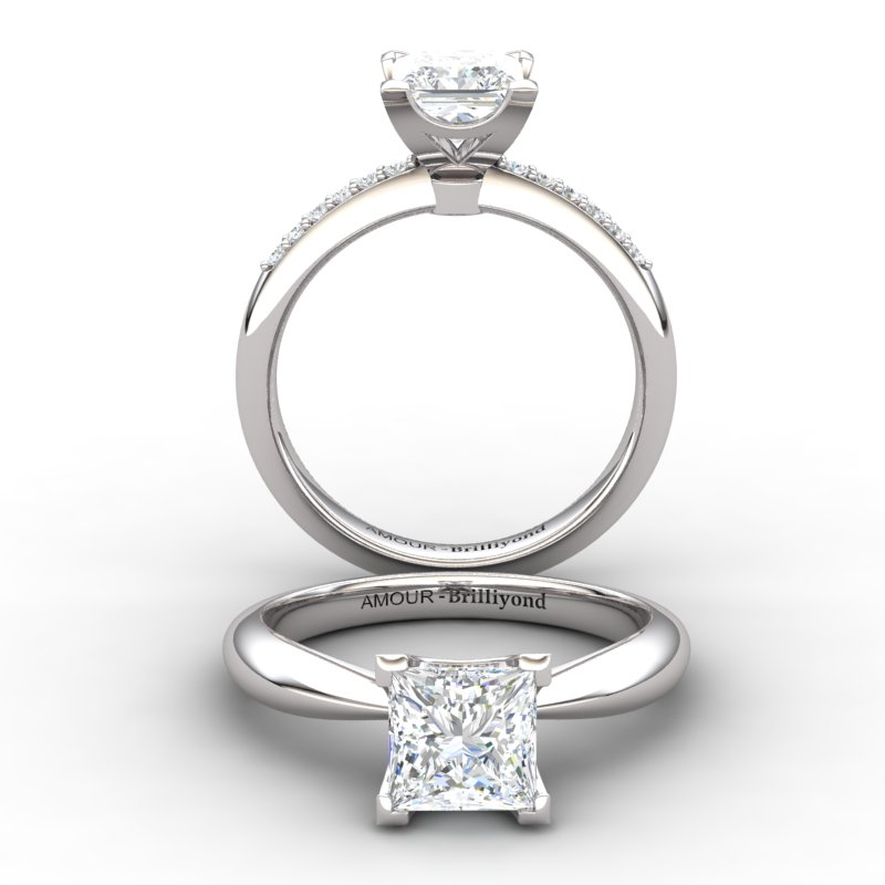 Magic of Love Solitaire Ring_image2