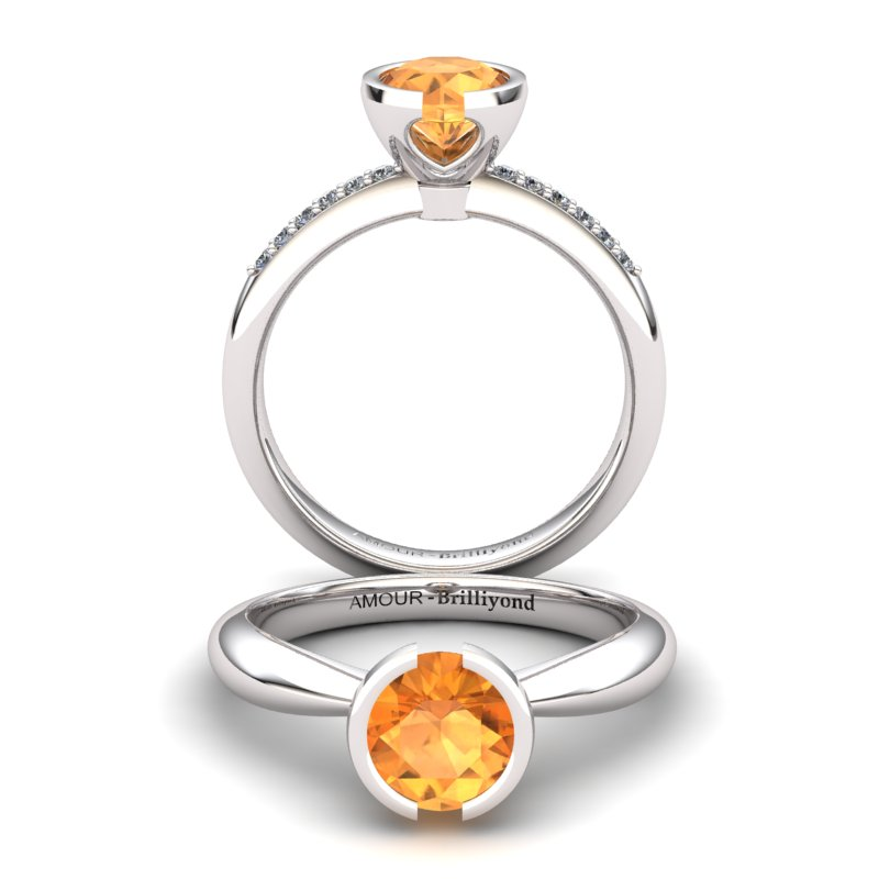 The Eye of Venus Solitaire Ring_image2