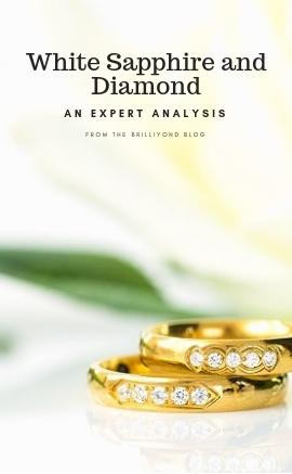White Sapphire and Diamond - An expert Analysis