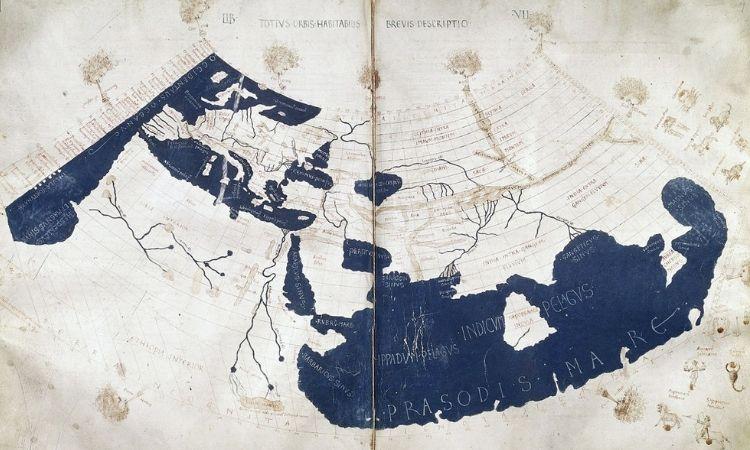 Ptolemy's World Map