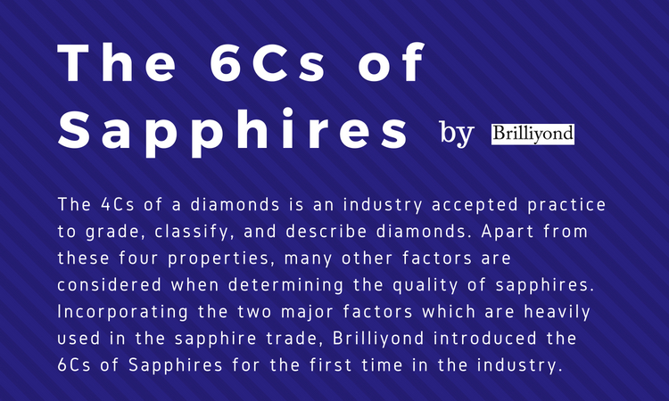 The 6Cs of Sapphire by Brilliyond