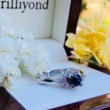Engagement ring engraving