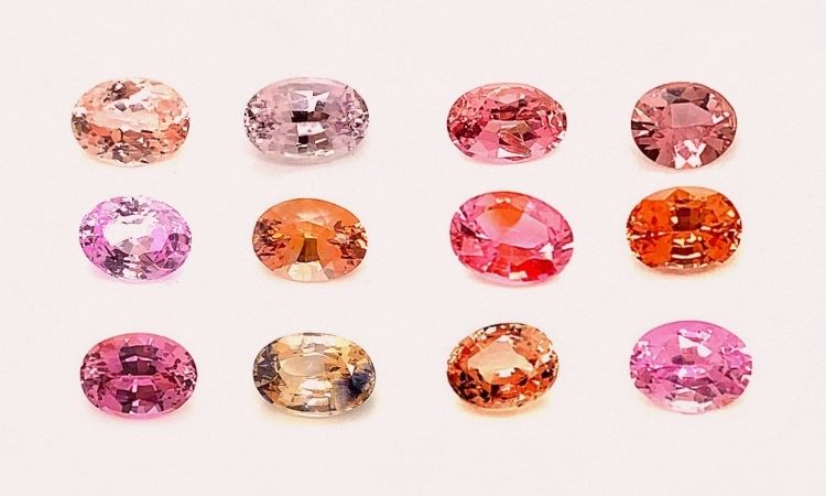 The Many Shades of Padparadscha Sapphires