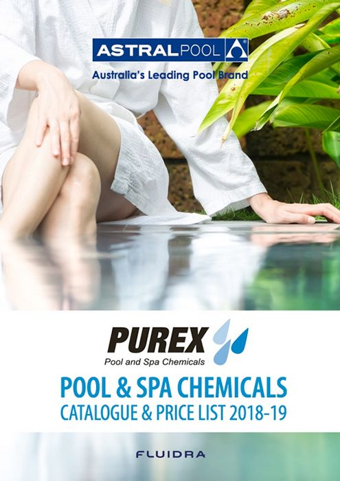 Purex Pool & Spa Chemicals Catalogue (2018/2019 Edition) Front Cover