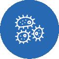 Fine mesh filter bag icon
