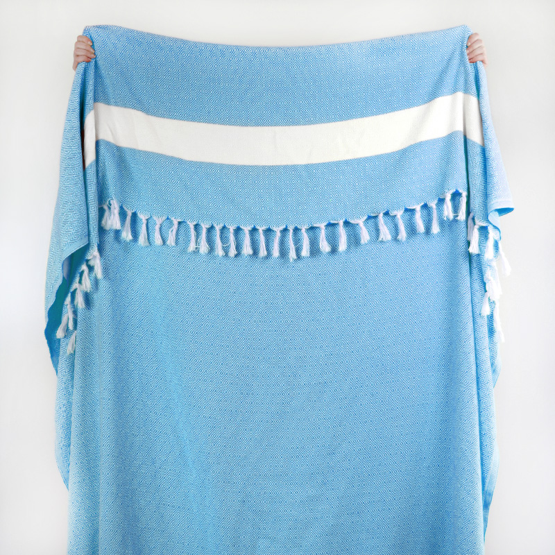 Moroccan Throw Turquoise