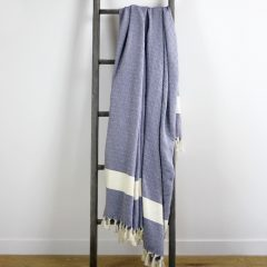 Moroccan Throw Navy