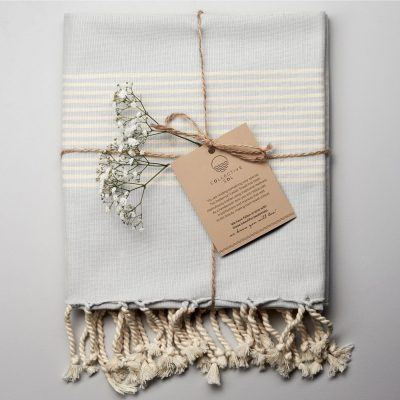 Little Cove Turkish Towel Grey