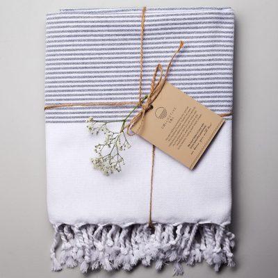 Coolum Turkish Towel Blue